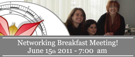 We2 Networking Breakfast in Montreal!!! - June 15, 2011