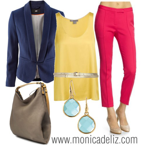 THIS SPRING: BE COLORFUL - Styled by Monica de Liz Style Coach